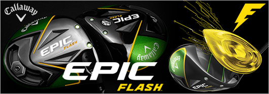 Callaway Epic Flash Driver & Fairway Wood