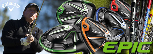 Callaway EPIC and EPIC Sub Zero Drivers with Custom shaft options and Udesign