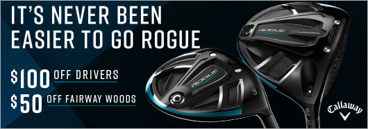 Callaway GO ROGUE AT A NEW LOW PRICE!