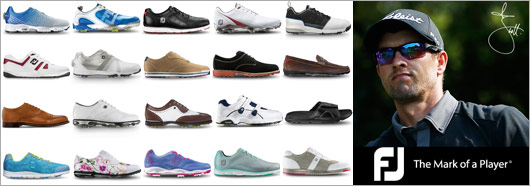 FootJoy Shoes featuring Adam Scott