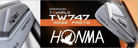 Honma TW747-MB Rose Proto Irons