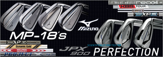 Mizuno MP-18 & JPX900 Irons
