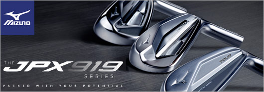 Mizuno New JPX919 Series Irons