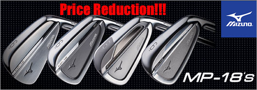 Mizuno MP-18 Price Reduction