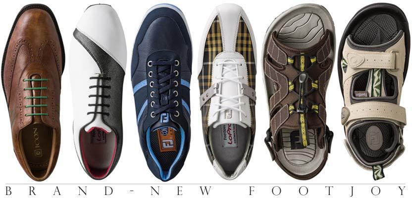 Footjoy フットジョイの2014年ニューモデル 新作ゴルフシューズ登場!FJアイコン/Mプロジェクト/ドライジョイズツアー/FJスポーツ/コンツアーカジュアル他