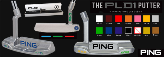 PING PLD1 Custom Putter