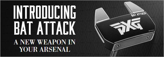 Introducing PXG Bat Attack putter