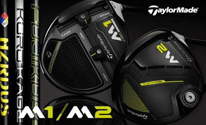 Taylormade 2017 M1 & M2