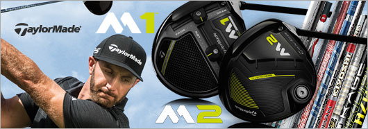 Taylor Made M1 and  M2 Drivers  with custom shaft options 