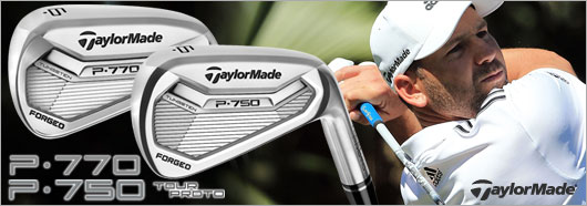 Taylor Made P750 and P770 irons with custom shaft options