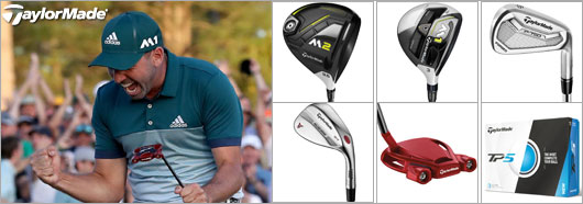 Sergio Masters win featuring TP5 ball, Tour Spider Red, P750 with modus3 tour