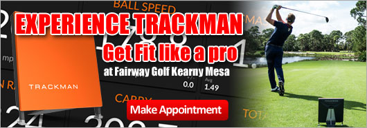 Experience Trackman at Fairway Golf Kearny Mesa