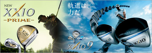 XXIO 9 AND XXIO 9 PRIME golf clubs