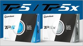 TaylorMade TP and TPx golf balls