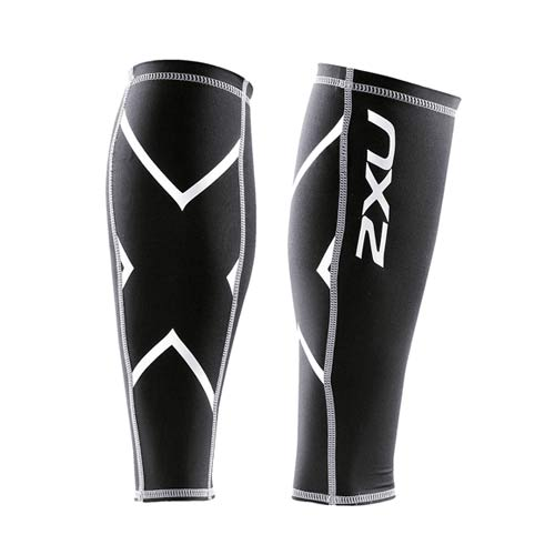 2XU Unisex Non-Stirup Calf Guards (#UA1987b)