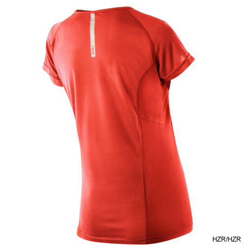 2XU Ladies Velocity S/S Run Tops (#WR2105a)