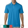 adidas Essential 3 Stripe Polo Shirt