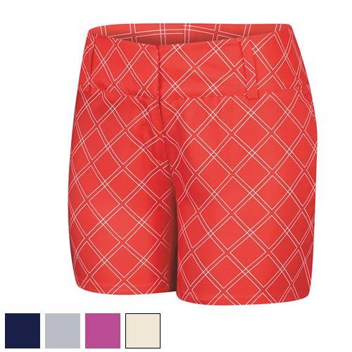 Adidas Ladies ClimaLite Diamond Printed Shorts