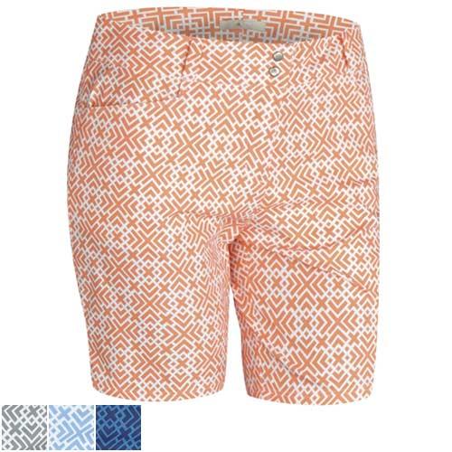 アディダスゴルフ Ladies Printed Shorts