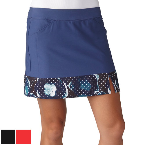 アディダスゴルフ Ladies Adistar Printed Hem Skort