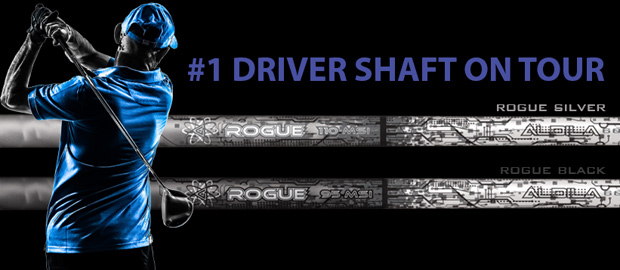 Aldila Rogue Silver Wood Shafts