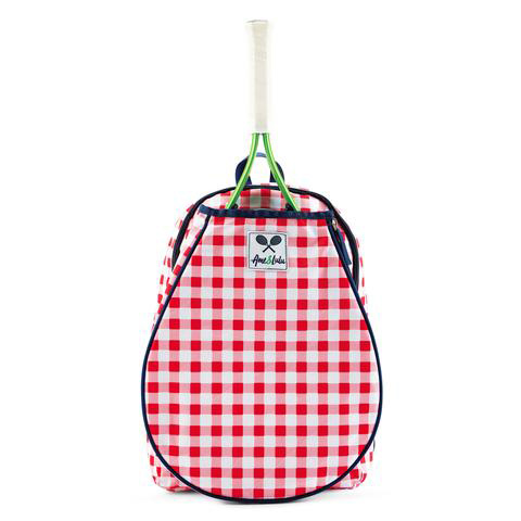 Ame & Lulu Junior Little Love Cherry Patch Tennis Backpack