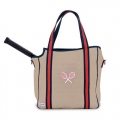 Ame & Lulu Ladies Vintage Sport Tennis Tote Bag