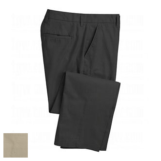 アシュワース AM6162 Flat Front Solid Pants