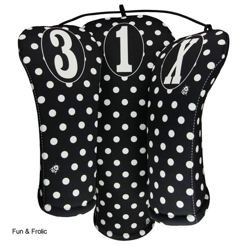 BeeJos Ladies Polka Dots Headcover