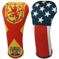 BeeJo National Flag Headcovers