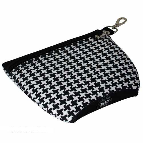 ビージョゴルフs Ladies Classic Houndstooth Tee Bag