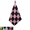 BeeJos Ladies Argyle Microfiber Towel