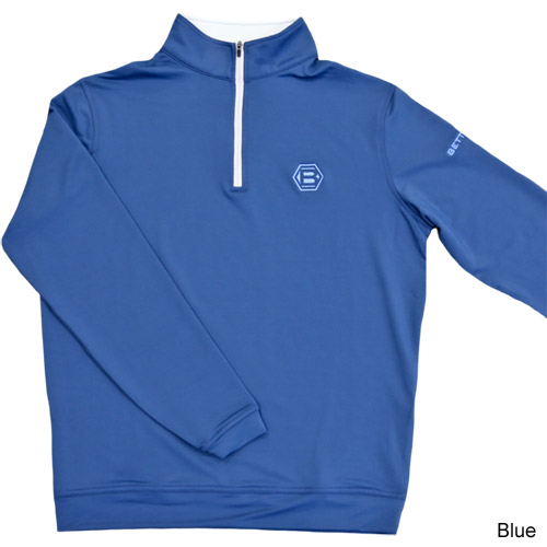 Bettinardi Perth Stretch Loop Terry 1/4 Zip Pullover