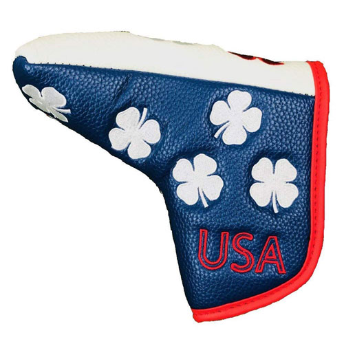 Black Clover Limited Edition All Over USA Blade Putter Cover