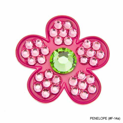 Bonjoc Ladies Flower Ball Markers