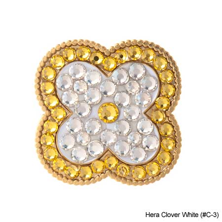 Bonjoc Ladies Hera Clover Ball Marker - Click Image to Close
