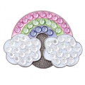 Bonjoc Ladies Rainbow Ball Markers
