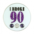 Bonjoc Ladies I Broke 90 Ball Markers