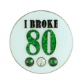 Bonjoc Ladies I Broke 80 Ball Markers