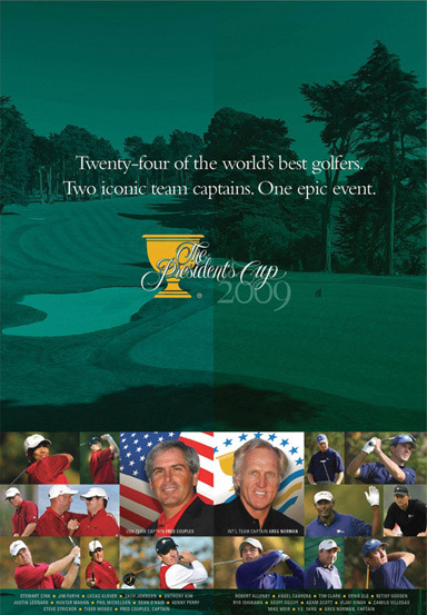 2009 PRESIDENTS CUP DVD