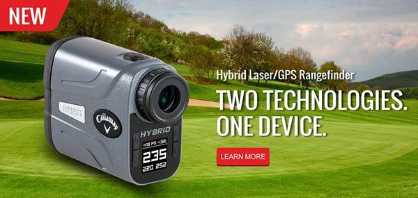 Callaway Hybrid Laser/GPS Rangefinder
