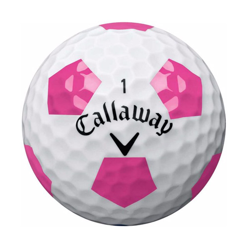 Callaway Chrome Soft Pink Truvis Golf Balls