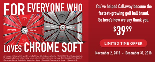 Chrome Soft Limited Time Offer