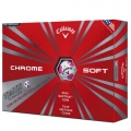 Callaway 2016 Chrome Soft Pink Truvis Golf Balls