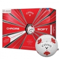Callaway Chrome Soft Canadian Maple Leaf Truvis Golf Ball