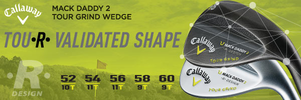 Callaway Mack Daddy 2 Tour Grind Slate Wedges