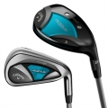 Callaway Ladies Rogue Irons/Hybrids Combo Set