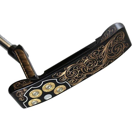 Carbon 303 Hand Engraved Putter