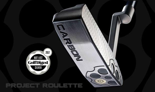 Carbon Project Roulette Series Putters