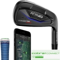 Cobra KING Forged Tec Black ONE Length Irons